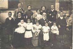 Família de Bernardino Machado, num postal enviado por este a Victor Ribeiro