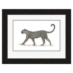 Cheetah Framed Wall Art