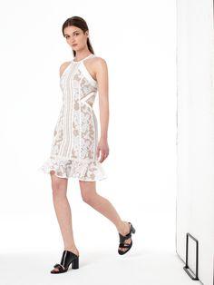 WHITE NOISE DRESS #THREEFLOOR #RESORT16