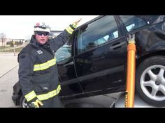 Rescue Methods Car on Car Stabilization Part II Fire Dept, Fire Department, Firefighter Training, Fire Training, Firefighting, Car, Youtube, Automobile, Cars