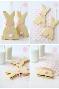 Galletas de Pascua • Arts & Crafts cute cookies for Easter Chef Robin White