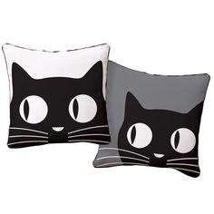 Big Eyes Cat Pillow