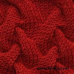 Another really cool cable stitch