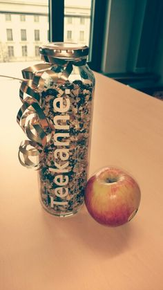 True fruits Flasche upcycling Müsli