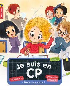 Je suis en CP : Alerte aux poux / Magdalena, Emmanuel Ristord. PR MAG