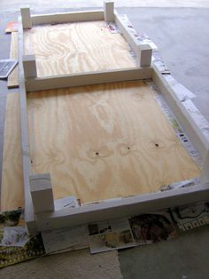 California Livin: DIY Outdoor Project: Phase 2 - Making the Outdoor Daybed