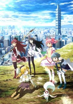 Madoka Magica Movie Posters in 7 Countries Posted