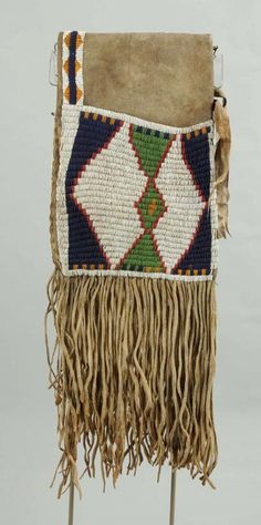 Early Northern Plains Saddle Bags. - Price Estimate: $5000 - $8000