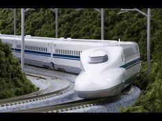 The Shinkansen Bullet Train (speed 320 km/h) 700, N700 and N700A Series - YouTube