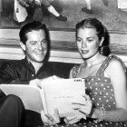 """Reading the script for """"Dial M for Murder"""""""