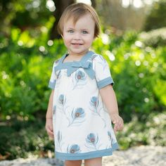 Cotton Dress with Decorative Details Baby Girl Dresses, Baby Boy Outfits, Baby Dress, Baby Princess, Little Princess, Cute Little Girls, Cotton Dresses, Beautiful Dresses, Summer Dresses