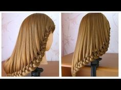 Simple hairstyle medium long / long hair ♡ Tutorial hairstyle with braid ♡ easy to do Easy Hairstyles For Medium Hair, Cool Braid Hairstyles, Work Hairstyles, Creative Hairstyles, Medium Hair Styles, Short Hair Styles, Easy Braids For Beginners, Easy Hair Cuts, Stylish Hair