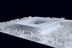 BORDEAUX - Grand Stade (42,566) - EURO 2016 - HERZOG & DE MEURON