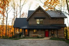 StoneMill Log & Timber Homes Picture Gallery - Snyder Project