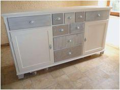 Home Staging, Wood Furniture, Buffet, Dresser, Ikea, Decoration, Storage, Recherche Google, Painted Wood