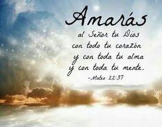 Mateo 22:37 - 39 Jesús le dijo: Amarás al Señor tu Dios con todo tu corazón, y…