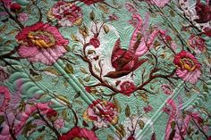Tula Pink. . .the quilting is amazing
