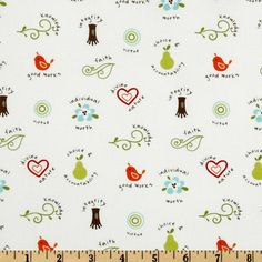 Fabric with the LDS YW values, and it's not cheesy!