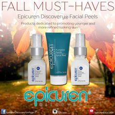 ✧ Epicuren Discovery Seasonal Must-Haves ✧ | Facial Peels | Products dedicated to promoting younger and more refined looking skin. Shop here: www.epicuren.com/Seasonal-Must-Haves/