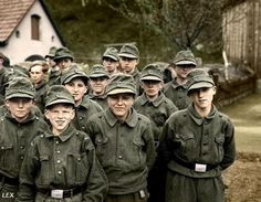 The Hitler Youth. I certainly don't love this, but it makes things easier to understand when you see how young they got to them.