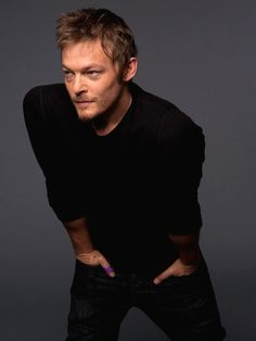 Norman Reedus. Everyone makes fun of the redneck until the zombie apocalypse :)