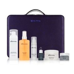 Elemis Pro-Collagen Queen Advanced Skincare by Elemis. $288.73. A 540.00 value. Includes locking travel case. Full anti aging system. Pro collagen queen kit is a complete anti ageing skincare system. Products are packaged in a royal purple travel case. Collection includes a pro radiance cream cleanser/150ml, soothing apricot toner/200ml, pro collagen marine cream/100ml, pro collagen oxygenating night cream/30ml, pro collagen advanced eye treatment/15ml, pro collagen quartz lif...