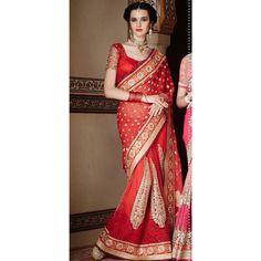 Red Color Saree @ Rs.7,451.17  #sarees # sinduri #musthave  #fashion # Indianclothes #sanginionline #saris