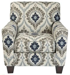 Carlino Mile - Mineral Accent Chair by Signature Design by Ashley Furniture