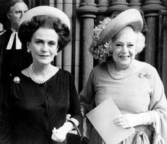 Those Were The Days: Dame Barbara Cartland (with the Duchess of Argyll)