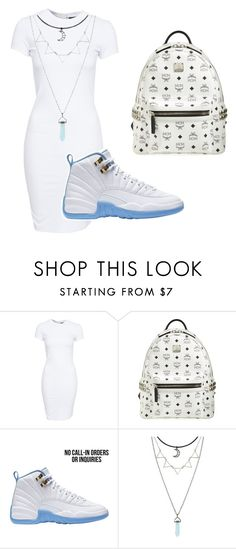 """"""""""" by ciaralin ❤ liked on Polyvore featuring SELECTED and MCM"""