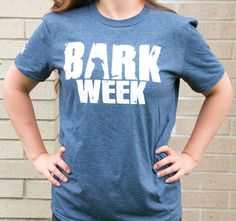 Celebrate #BarkWeek (our play on the infamous Shark Week) with this fun tee! 100% of the proceeds benefit the 35,000 pets Great Plains SPCA serves annually.