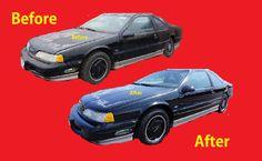 Polishing Car Paint How To Polish DIY Restore Dry Faded cars #6