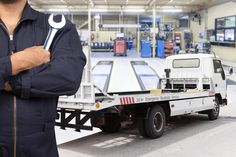 Truck & Trailers repair - Breitbach Garage, If you are looking for Auto Repair Shop for Truck & Trailers repair and Farm Equipments, then you can visit us in Newton. Cheap Trucks, New Trucks, Cool Trucks, Truck Repair, Combustion Engine, Electrical Components, Night Life, Vehicles, Repair Shop