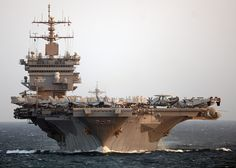 #USS_Enterprise on her final #deployment. by Official U.S. #Navy Imagery, via Flickr     #military #ship #carrier #aircraft