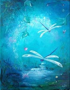 "Dragonfly, dragonfly...as a creature of the wind, the dragonfly represents change. As a creature of the water, they represent the subconscious, or ""dream"" state.    ...prosperity, strength, courage, peace, harmony and purity."