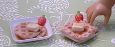 Waffles for American Girl Dolls by MyGirlClothingCo on Etsy