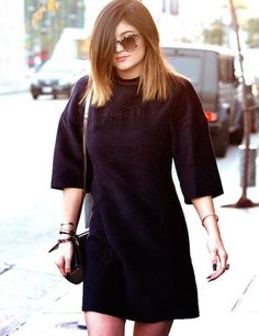 Kylie Jenner ombre on her short hair