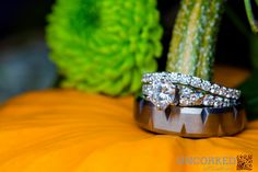 Wedding bands and fall pumpkins. © 2015 Uncorked Studios, LLC - Destination & Philadelphia Pennsylvania Wedding Photographer - Photography for Awesome Couples