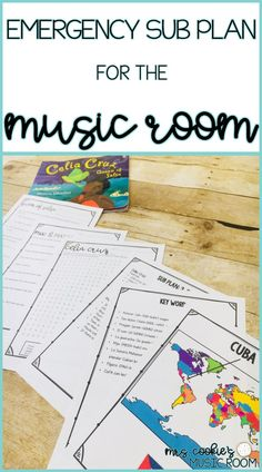 An emergency sub plan for a non-music sub, to accompany Veronica Chambers' book, Celia Cruz: Queen of Salsa. #musicsubplans #generalmusic #mrscookiesmusicroom