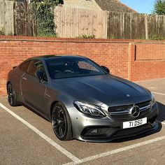 "Instagram media by amg_tdso - Sunshine on a ""Mr Grey"" day! ☀️ ———————————————————————— Mercedes-AMG C63S Coupe Edition 1 ""Mr Grey""  ———————————————————————— Courtesy: @amg_tdso"