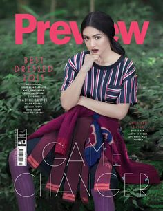 Solo cover again, cant wait to have a copy! W Dresses, Nice Dresses, Preppy Outfits, Cute Outfits, Nadine Lustre, Got Game, Jadine, Young Actresses, Music Film