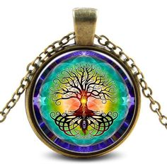 Earth-to-Sky Tree Necklace - Feel the power of an ignited spirit.  Be like the tree - grounded in Mother Earth while reaching for Heaven - with this necklace.  Trees are a sacred symbol for those in human bodies.  Their roots remind us to remain planted in Mother Earth for all we need. And their branches reach for heaven for light and energy.  Remembering this can create spiritual power in you.  Ignite your spirit with tree medicine, and wear this necklace to cultivate spiritual fire.