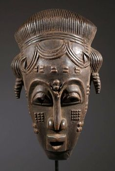 "Africa | Oracle bowl ""agere ifa"" from the Yoruba people of Nigeria 