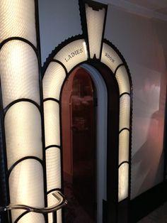 Art Deco Ladies Room, Claridges, London