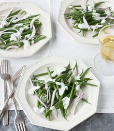 Haricots+Verts+with+Green+Goddess+Dressing  - CountryLiving.com