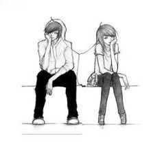 Resultado de imagem para desenho de casal apaixonado tumblr colorido