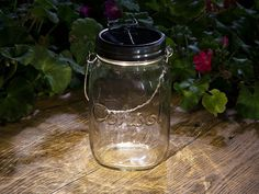 Consol Solar Jar, discovered by The Grommet, stores sunlight during the day, using solar LEDs, that can be used at night with the flick of a switch.
