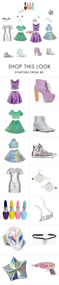 """""""Squad Outfits #3"""" by youngpunk6 on Polyvore featuring Shoe Republic LA, Yves Saint Laurent, Converse, Motel, Suite 7, Disturbia and Skinnydip"""