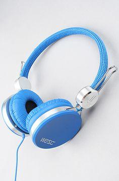 "WeSC ""The Banjo Headphones in Royal Blue"" #KARMALOOP 10-20% OFF every order with rep kode LOOPHOLE [KarmaKodes.com for more]   Shop KARMALOOP: http://www.karmaloop.com/index.aspx?rcode=LOOPHOLE"