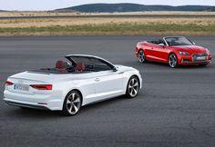 Audi A5 Cabrio revelado!